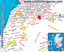 The Surnames of Southwest Ayrshire